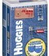 Inspiracja w kolekcji wiosenno-letniej 2009 - unikalne jeansy dla niemowląt. Limitowana edycja pieluszek Huggies? JEANS