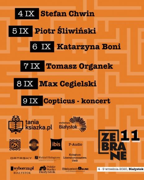TaniaKsiazka.pl po raz kolejny wspiera Festiwal Zebrane LIFESTYLE, Książka - Pandemia zmieniła wszystko, także Festiwal Literacki Zebrane.